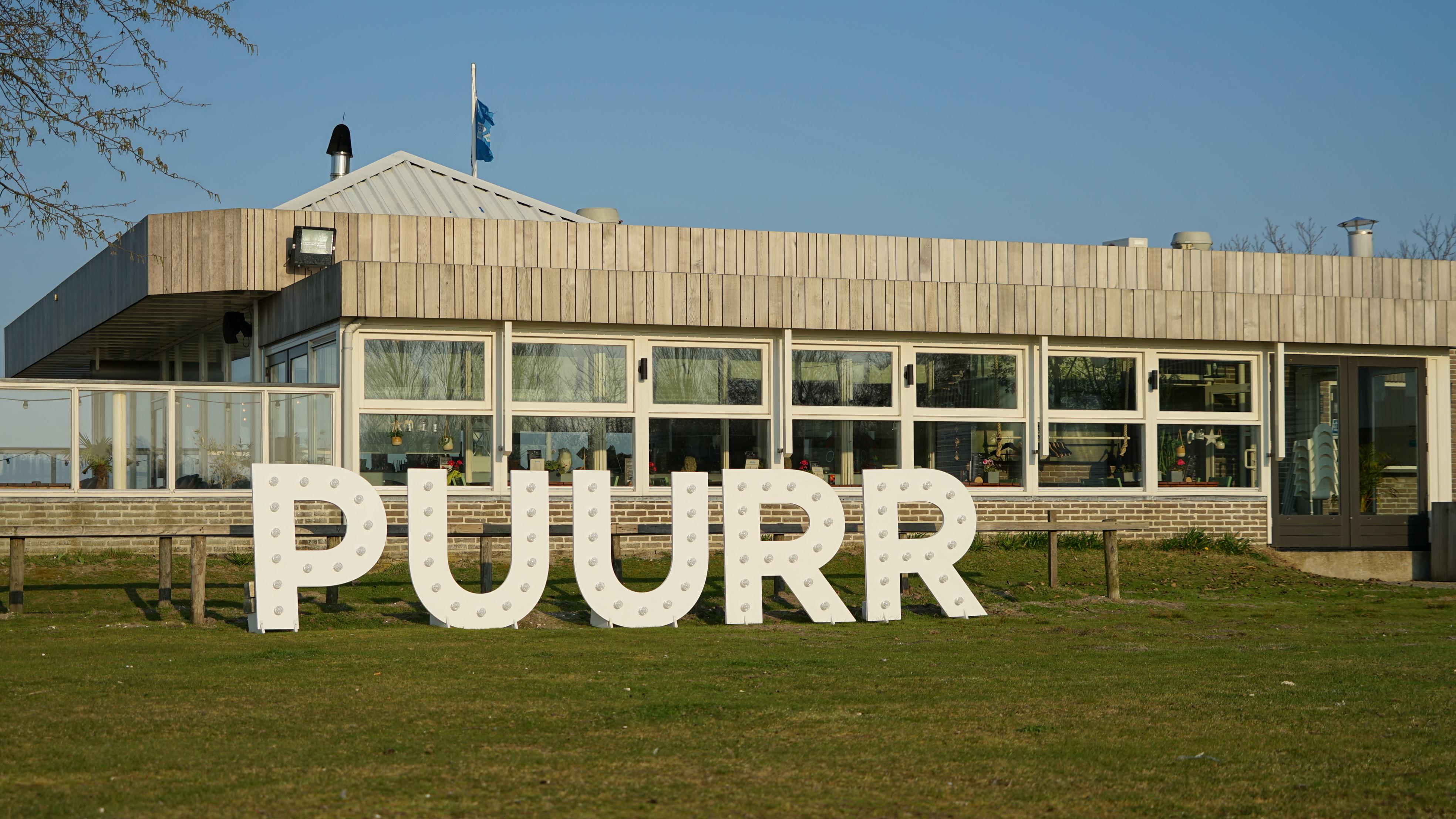 Restaurant met Puurr logo